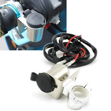 New Car Auto Motorcycle Cigarette Lighter Power Socket Outlet Plug DC 12V +Cable
