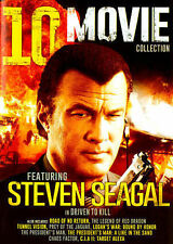 10 Movie Collection Steven Seagal (DVD 2-Disc) DRIVEN TO KILL LOGAN'S WAR