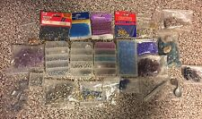 Huge Mixed Lot Misc Swavorski Glass Seed Irridescent Ceramic Beads
