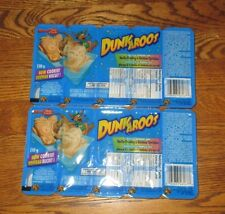 2 Packs Dunkaroos 10 TOTAL Cookies Vanilla Icing FROM Canada FREE USA SHIP