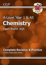 CGP New A-Level Chemistry: AQA Year 1 & AS Complete Revision & Practice
