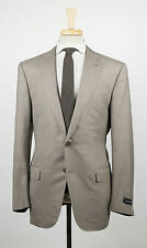 New ERMENEGILDO ZEGNA 'Trofeo 600' Brown Wool Blend 2 Button Suit 54/44 R $2995