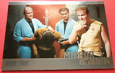 "STAR TREK TOS 50th Anniversary - MM20 ""MIRROR, MIRROR"" (uncut) - Foil Chase Card"