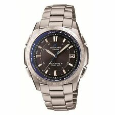 Casio OCEANUS OCW-T100TD-1AJF Titanium Tough Solar Radio Men's Sport Watch Japan