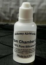 Airgun Chamber Lube is Pure 100% Silicone Oil - 2 X Crosman Silicone Chamber Oil