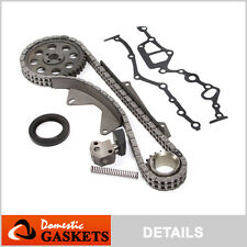 Fit 83-88 Nissan 720 D21 Pathfinder Van 2.4L SOHC Timing Chain Kit Z24 Z24i Z24S
