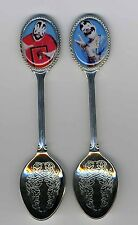 Insane Clown Posse 2 Silver Plated Spoons Featuring Insane Clown Posse