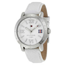 Tommy Hilfiger Liv White Dial White Leather Ladies Watch 1781440