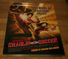 SHAOLIN SOCCER *ORIGINAL UNFOLDED * 2001 One Sheet Movie Film POSTER - S. CHOW
