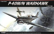 Academy 12465 P-40M/N WARHAWK 1/72 Plastic Model Kit Airplane Jet Hobby Kits