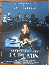 AFFICHE - LA PUTAIN THERESA RUSSELL KEN RUSSELL