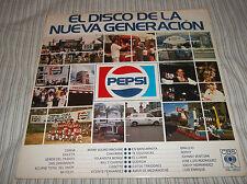 EL DISCO DE LA NUEVA GENERACION PEPSI Various Artists CBS