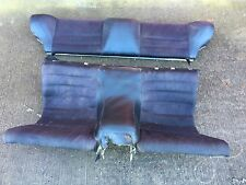 PORSCHE 944 924 SCRIPT REAR SEATS in BLACK