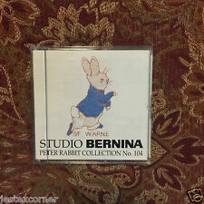 Embroidery Peter Rabbit Designs Card 104 Bernina Bernett Deco Brother Baby Lock