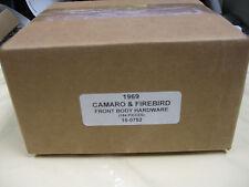 1969 CAMARO, FIREBIRD FRT. SHEET METAL HARDWARE KIT
