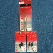 SHISEIDO Mini Eyelash Curler #215 + 2 x #216 Refills - Made In Japan