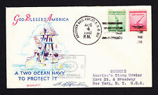 1941 USA American Base Forces postmark cover Greenland cachet Passed By Examiner
