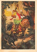 B75312 wolf chaveaux horse Russia fairy tales popular story contes de fees