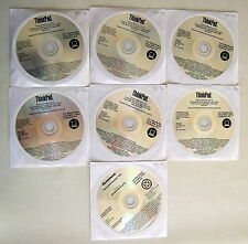LENOVO THINKPAD X61 X61s WINDOWS XP Pro RECOVERY DISCS 03W7111 44Y0283 English