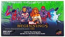 Marvel Beginnings 3 - Master Set - 330 Cards all 3 chase Sets plus bonus!!!
