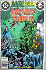 Swamp Thing Annual #2 1985 NEWSSTAND Variant Justice League Dark - MOVIE Coming