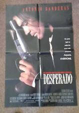 DESPERADO   1995     Authentic folded Movie Poster 1-sheet   Antonio Banderas