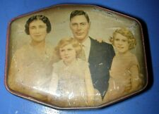 Riley's Toffee Tin w/ Royal Family King George IV & Future Queen Elizabeth