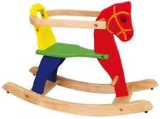 Viga Colourful Wooden Rocking Horse - Kids/Children's Toy