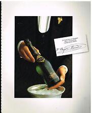 Publicité Advertising 1980 Le Champagne Veuve Cliquot Ponsardin