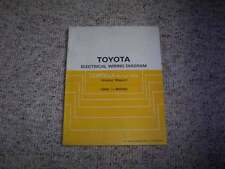 1988 Toyota Corolla Electrical Wiring Diagram Manual FX DX FX16 GTS LE SR5 1.6L