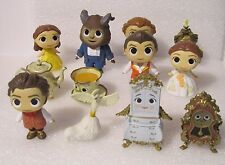 FUNKO MYSTERY MINIS BEAUTY AND THE BEAST COMPLETE WALMART SET w/ 3 EXCLUSIVES