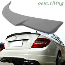 MERCEDES BENZ C-CLASS W204 REAR TRUNK SPOILER SALOON C250 C300 C63 V 2013 NEW