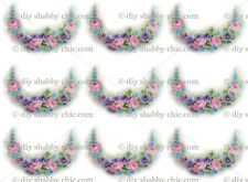 FRENCH FURNITURE DECAL DIY SHABBY CHIC IMAGE TRANSFER VINTAGE FLORAL FLOWER