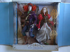 Disney Alice And Mad Hatter Limited Edition Doll Set Alice Through Looking Glass