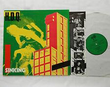 "H.D.Q.  ""Sinking"" BELGIUM Orig LP DISSIDENCE DISLP 1 (1990) NEW - UNPLAYED!!"