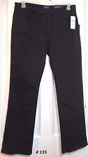 NYDJ Not Your Daughters Jeans Brown Jeans NWT Size 16P