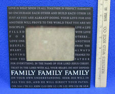 Family  Wood Wooden Picture Photograph Photo Frame Black Religious Bible Quotes