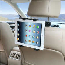 New 360°Rotatable Headrest Mount / in-Car Holder Cradle for iPad back-of-seat