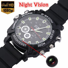 Mini DVR Waterproof HD 1080P Spy Watch Camera Night Vision Camcorder 8GB US