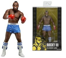 "NECA ROCKY 40TH ANNIVERSARY SERIES 1 CLUBBER LANG 7"" ACTION FIGURE BLUE SHORTS"