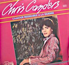 ++CHRIS CANDERS l'amour ressemble a la guerre/instrumental SP 1984 EX++