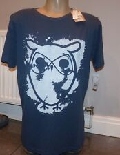 KNOWLEDGE COTTON APPAREL OWL T SHIRT SIZE  LARGE 42-44 INCH CHEST ORGANIC