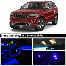 18x Blue LED Interior Lights Package Kit 2011-2015 Jeep Grand Cherokee