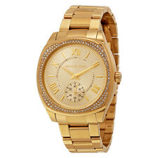 Michael Kors Bryn Gold Dial Gold-plated Ladies Watch MK6134