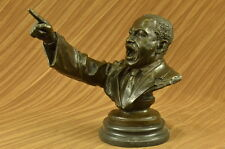 Rare Number Mid Century Martin Luther King Jr Famous Art Deco Bronze Statue