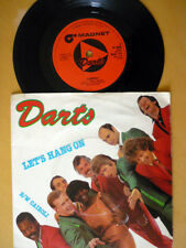 DARTS = LET'S HANG ON / CAIROLI = PICTURE SLEEVE & EXCELLENT VINYL = 1980