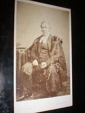 Cdv old photograph man lawyer barrister by Adams Aberdeen c1860s
