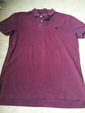 American eagle marron couleur polo shirt taille s