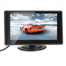 Smart 2 Channel Video Input 4.3'' TFT LCD Car Rear View Monitor Car Monitor F5