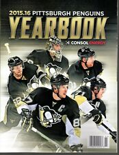 PITTSBURGH PENGUINS NHL YEARBOOK 2015 2016 STANLEY CUP FINAL CHAMPIONS? LEMIEUX